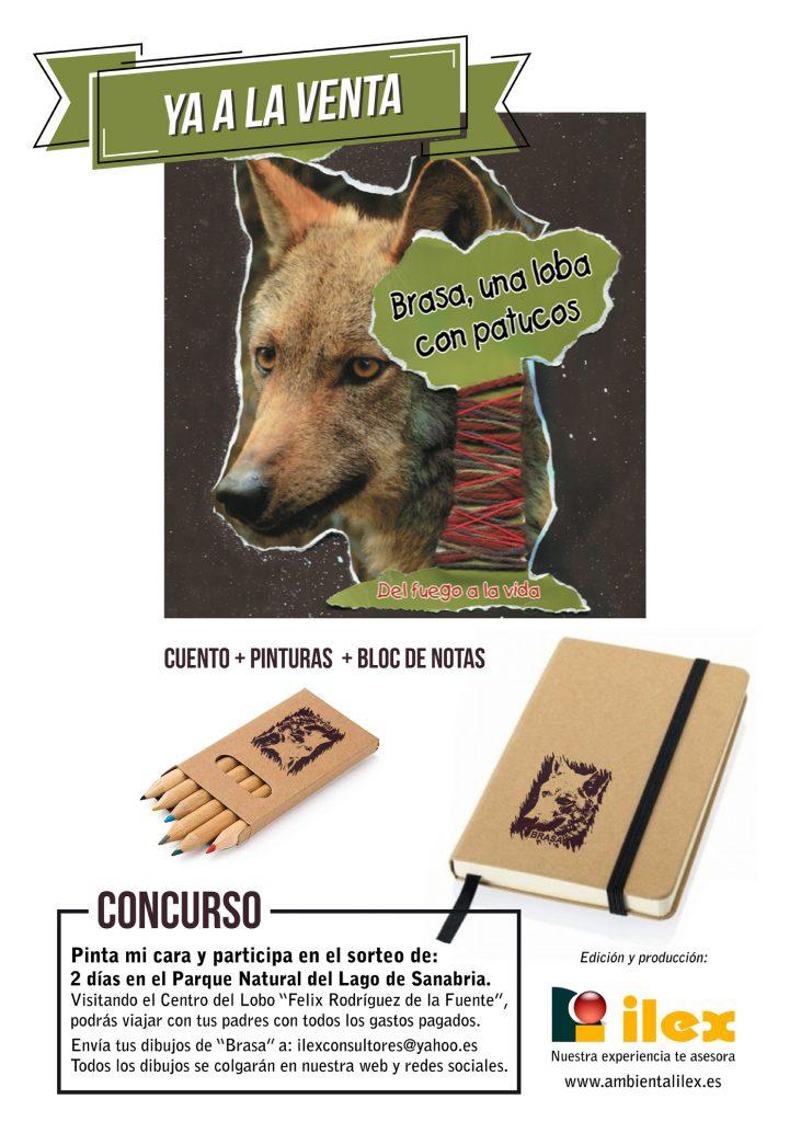 Brasa, una loba con patucos · cartel