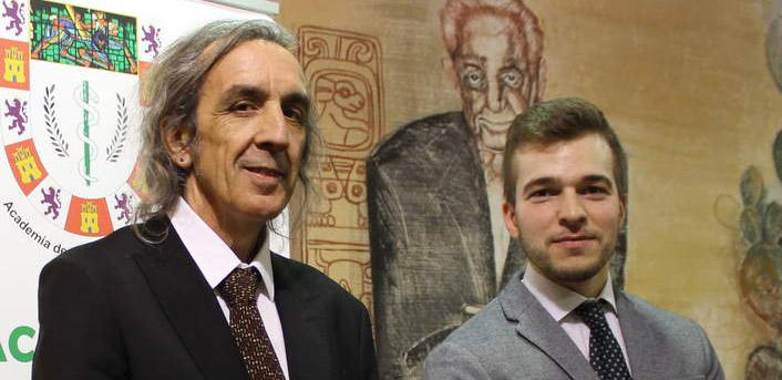 Emilio Yanes y Pablo Díez, baner veterinarios