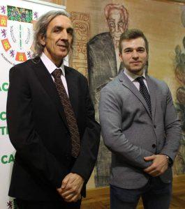 Emilio Yanes y Pablo Díez, premios de la academia de ciencias veterinarias